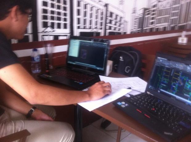Kursus Private AutoCAD + Fusion360 di Syahaba Coffee Bogor