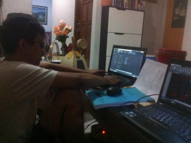 Latihan 2D Kursus Private AutoCAD di Indraprasta 1 Bantarjati Bogor Utara