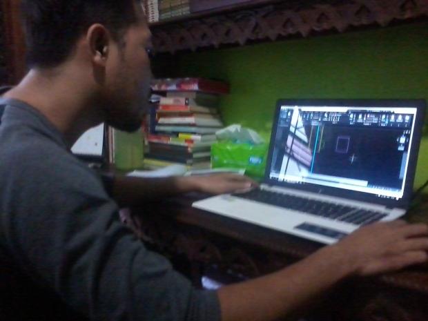 Latihan Dasar Obyek Gambar Teknik Kursus Private AutoCAD di Kalibata Timur Jakarta Selatan