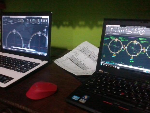 Latihan Materi Mekanikal Kursus Private AutoCAD di Kalibata Timur Jakarta Selatan