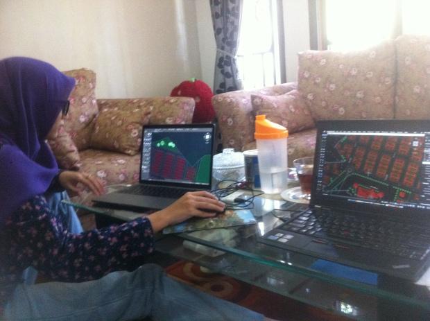 Latihan Teknik Arsitektur Kursus Private AutoCAD di Srengseng Sawah Jagakarsa Jakarta Selatan