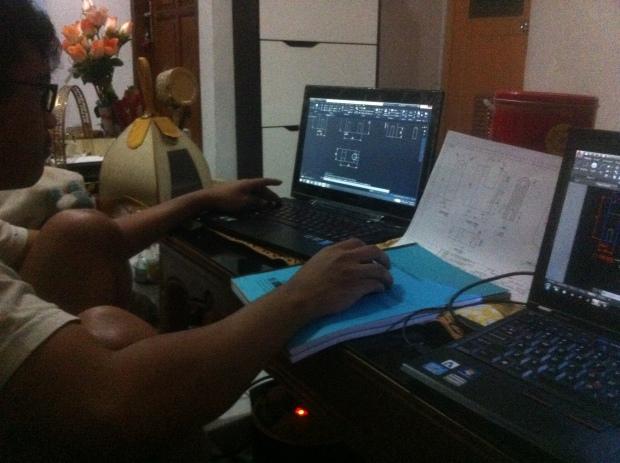 Pelaksanaan Kursus Private AutoCAD di Indraprasta 1 Bantarjati Bogor Utara