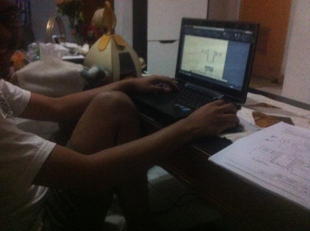 Pelaksanaan Materi 3D Kursus Private AutoCAD di Indraprasta 1 Bantarjati Bogor Utara