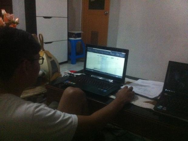 Situasi Latihan Kursus Private AutoCAD di Indraprasta 1 Bantarjati Bogor Utara
