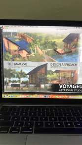 Draft Presentation 1 - VOYAGEUR Personal Studio for Travel Blogger