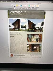 Draft Presentation 2 - VOYAGEUR Personal Studio for Travel Blogger
