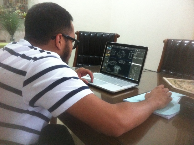 Latihan 3D Kursus Private AutoCAD di Komplek Arco Depok Sawangan JawaBarat