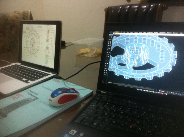 Materi Gambar Mesin Kursus Private AutoCAD di Komplek Arco Depok Sawangan JawaBarat