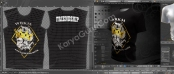 2D 3D Mockup T-shirt Design MotorCycle Club