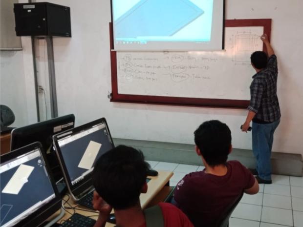 Workshop AutoCAD di Fakultas Teknik Universitas Mercu Buana Meruya Selatan Kembangan JakartaBarat