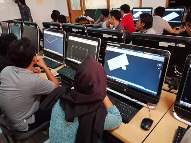 Workshop Pengantar AutoCAD di Fakultas Teknik Universitas MercuBuana Meruya Selatan Kembangan Jakarta Barat