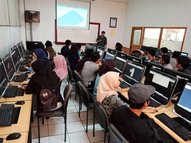 Workshop Pengenalan AutoCAD di Fakultas Teknik Universitas Mercu Buana Jl Meruya Selatan Kembangan Jakarta Barat