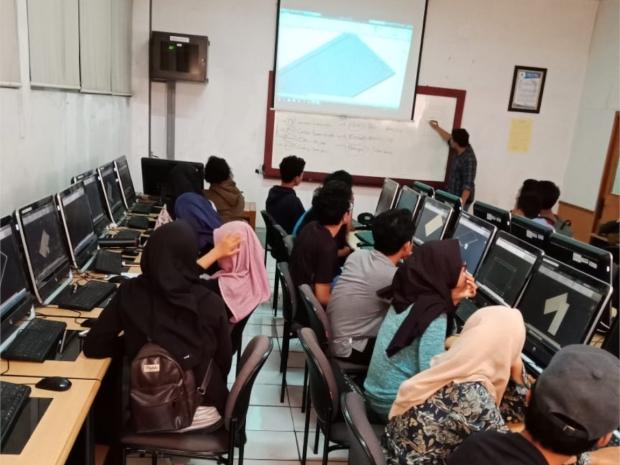 Workshop Pengenalan AutoCAD di Fakultas Teknik Universitas MercuBuana Meruya Selatan Kembangan Jakarta Barat