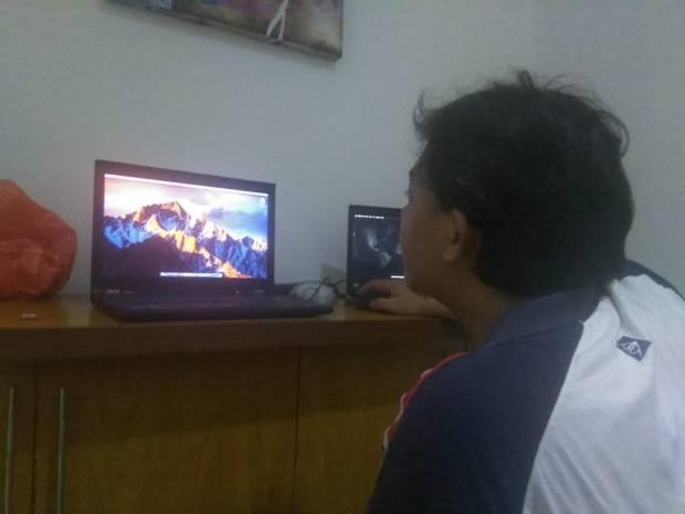 Install Hackintosh MacOS Sierra di Lenovo Thinkpad T420s HD+ Screen Lokasi Jl. RM Harsono Ragunan Jakarta Selatan