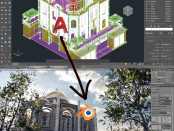 Import AutoCAD 3D Model File to Blender