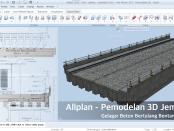 Nemetschek Allplan BIM Pemodelan 3D Jembatan