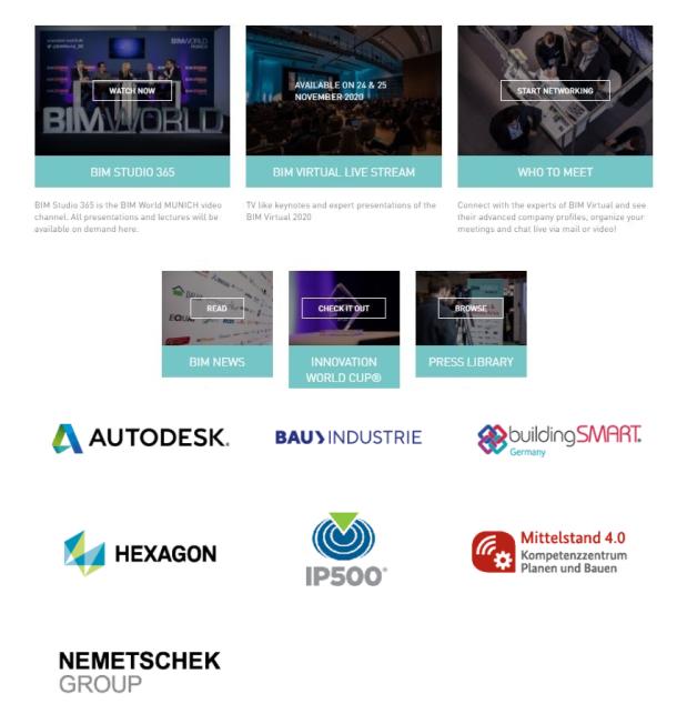 BIm Studio, BIM Virtual, Networking, News, Innovation, Press Libarary BIM World MUNICH