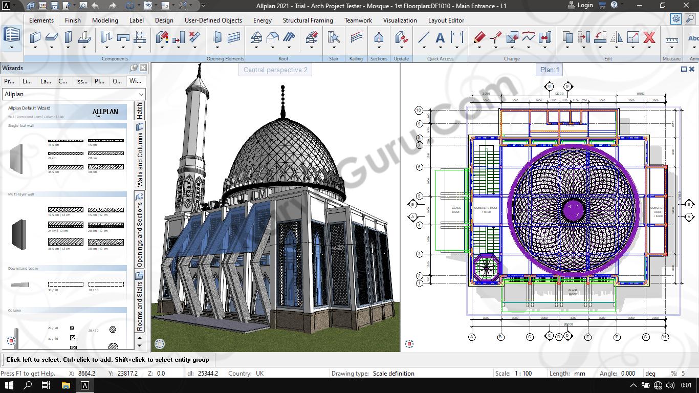 Allplan 2021 - BIM 3D Modeling for Architecture Design